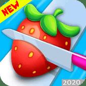 奇怪的水果切割