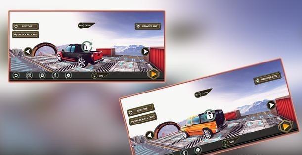 真正的轨道汽车游戏