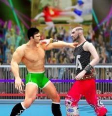 世界标记队摔跤革命冠军游戏