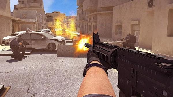 精英:反恐枪战游戏