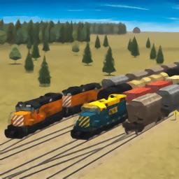 火车和铁路货场模拟器