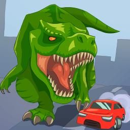 像素恐龙城市破坏