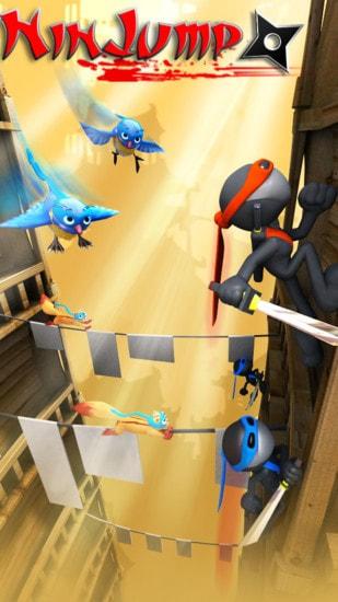 跳跃忍者游戏