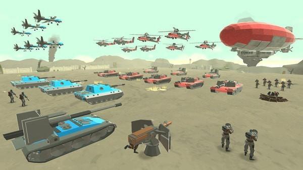 坦克集结战
