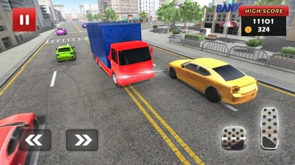 卡车交通赛车手