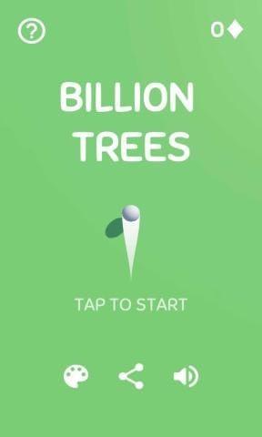 十亿颗树木