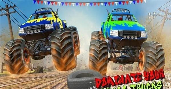 沙漠怪兽卡车赛车特技(图1)